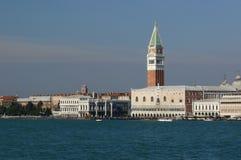 arrivée Venise Photo libre de droits