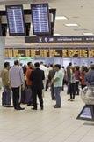 Arrivées d'aéroport Images stock