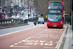 Arriva-Bus in London, England stockfoto