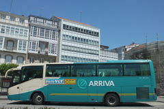 Arriva transportation Royalty Free Stock Image