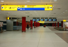 Arrival hall Royalty Free Stock Images
