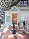 Arrival hall at Bangkok airport Royalty Free Stock Photos