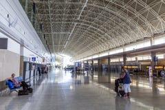 Arrival hall at Fuerteventura Royalty Free Stock Photos