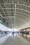 Arrival hall at Fuerteventura Royalty Free Stock Image