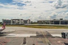 Arrival Hall in Kuala Lumpur International Airport 2 Malaysia Stock Photos