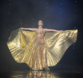 Arrival of the queen-Turkey belly dance-the Austria's world Dance Royalty Free Stock Photos