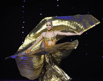 Arrival of the queen-Turkey belly dance-the Austria's world Dance Royalty Free Stock Photography