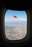 Arrival to Los Angeles Stock Photography