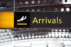Arrivals Royalty Free Stock Photography