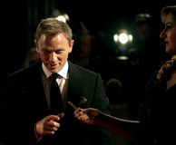 Arrivals At The Orange British Academy Film Awards. Actor Daniel Craig arrives at the Orange British Academy Film Awards in London's Royal Opera House on Stock Photo