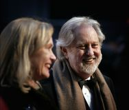Arrivals At The Orange British Academy Film Awards. Lord David Puttnam arrives at the Orange British Academy Film Awards (BAFTAs) at the Royal Opera House on Stock Image