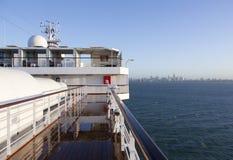 Arrivando a Melbourne Immagini Stock