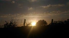 Arrivederci Sun Fotografia Stock