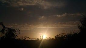 Arrivederci Sun Fotografie Stock Libere da Diritti