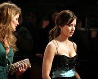 Arrivées aux récompenses britanniques oranges de film d'académie Photos libres de droits