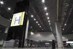 Arrivez le secteur de l'aéroport international de Guarulhos, GRU Photo stock