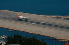 Arriving at Gibraltar Royalty Free Stock Images