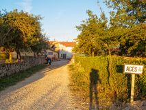 Tiny village - Ages Royalty Free Stock Photos