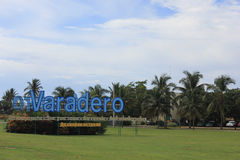 Arriving at Varadero Airport Stock Images