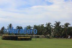 Arriving at Varadero Airport Stock Images