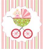 Arrivo della neonata Immagini Stock