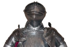 Arrmour of medieval knight Royalty Free Stock Photography