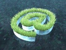 Arroba ecologico Immagini Stock
