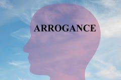 Arrogance - personality concept Stock Photos