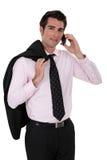 Arrogant businessman Stock Image