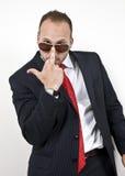 Arrogant man Royalty Free Stock Photos