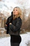 Arrogant pretty woman Royalty Free Stock Photo