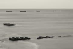 arromanches Νορμανδία Στοκ φωτογραφία με δικαίωμα ελεύθερης χρήσης