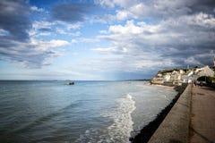 Arromanches-les-Bains Γαλλία Στοκ εικόνες με δικαίωμα ελεύθερης χρήσης
