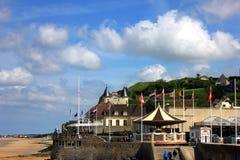 Arromanches les bains στη Νορμανδία Στοκ φωτογραφία με δικαίωμα ελεύθερης χρήσης