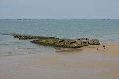 Arromanches Stock Photography