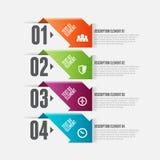 Arrooptie Infographic Stock Afbeelding