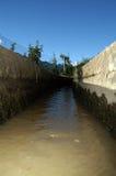 arrosage d'irrigation de fossé Image libre de droits