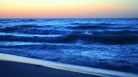 Arrosez et ondulez le fond de scène de pays de paysage de paysage de mer clips vidéos