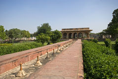 Arrosez le palais, Deeg, Ràjasthàn, Inde Image libre de droits