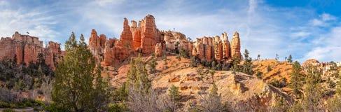 Arrosez le panorama de canyon - PA nationale de canyon de Bryca Images stock