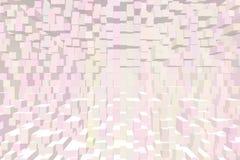 Arrossiscono le costruzioni rosa dei cubi dei quadrati fotografie stock libere da diritti