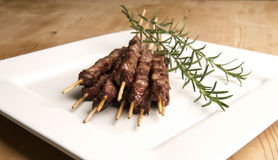 Arrosticini Royalty Free Stock Image
