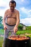 arrostisce col barbecue non sano Immagine Stock Libera da Diritti