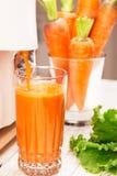 Сarrot juice Royalty Free Stock Photos