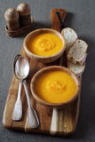 Сarrot soup Royalty Free Stock Photos