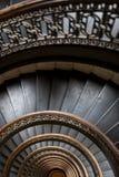 Arrott byggnad - halv trappuppgång för cirkulärspiralmarmor - i stadens centrum Pittsburgh, Pennsylvania Royaltyfri Fotografi