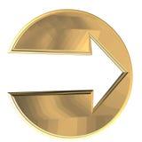 Arrow. 3D illustration vector illustration