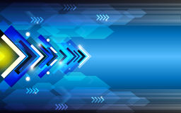Arrow abstract background. EPS 10 Vector Royalty Free Stock Photography