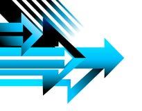 Arrow background design page conceptual vector illustration Stock Photo