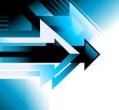 Arrow background design page conceptual vector illustration Stock Photos
